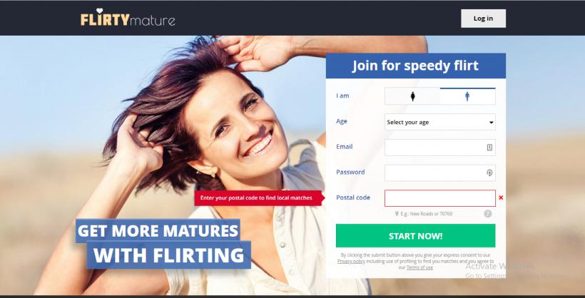 Flirtymature com