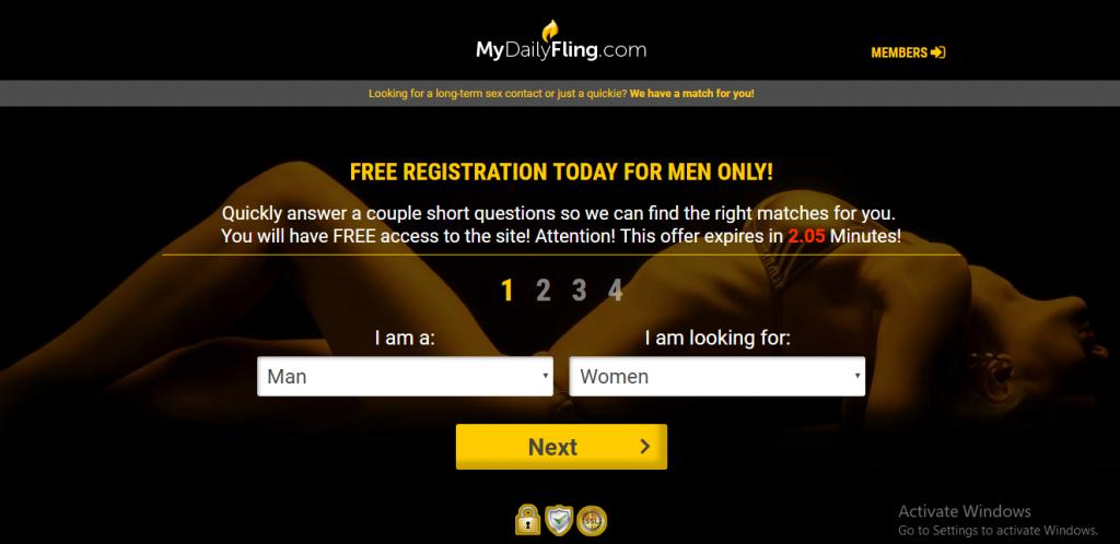 MyDailyFling.com screencap