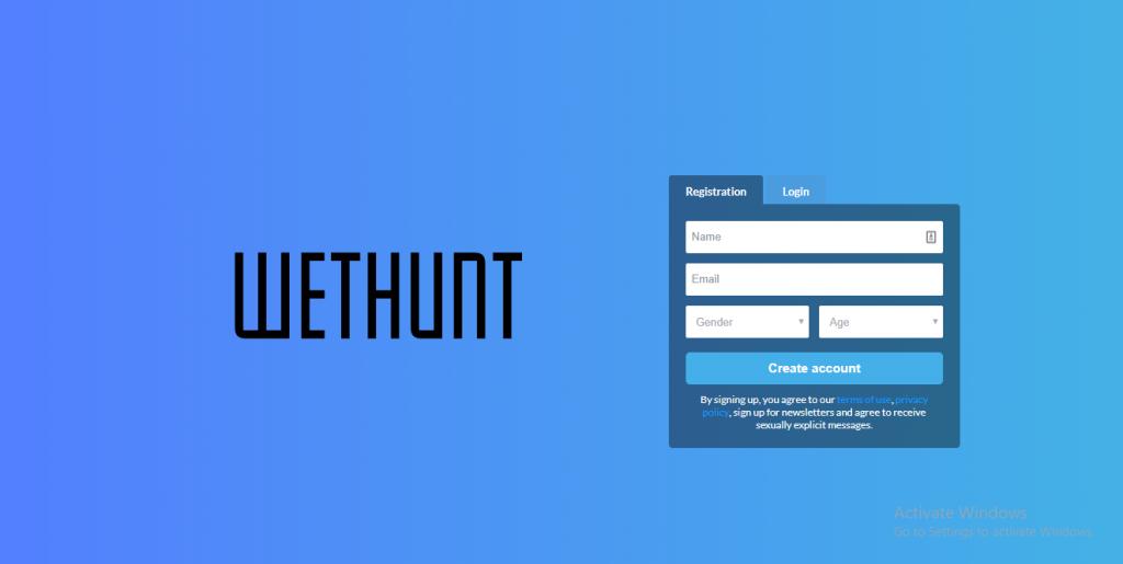 WetHunt.com screencap