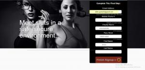 SafeSluts.com screencap