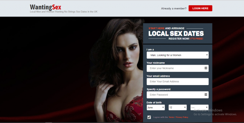 Sex dating and casual adult personal web page directory