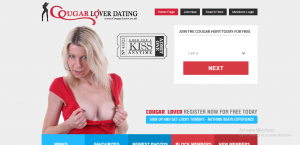 CougarLover.co.uk screencap