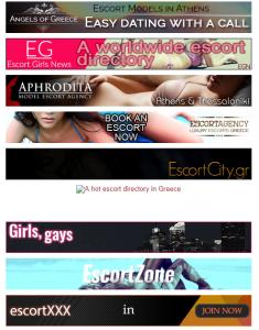 Escort Girls News List of Agencies