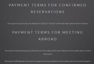 Macedonna payment terms