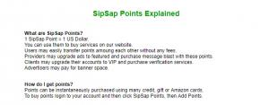 SipSap.com review points explained