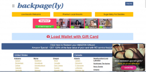Backpage.ly Review screenshot