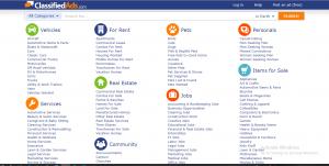 ClassifiedAds.com Review screenshot