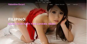 Valentine Escort review screenshot