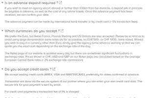 Felines Escort Review fees