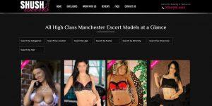 Shush Escorts Review home page