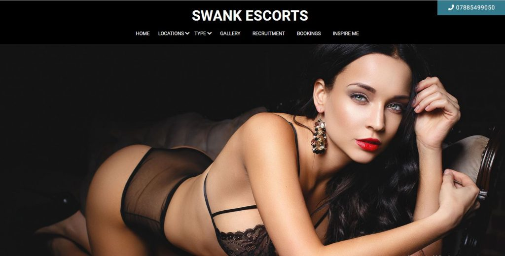 Swank Escorts Review screenshot